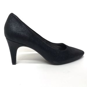AEROSOLES Heelrest Black Pumps 9 M